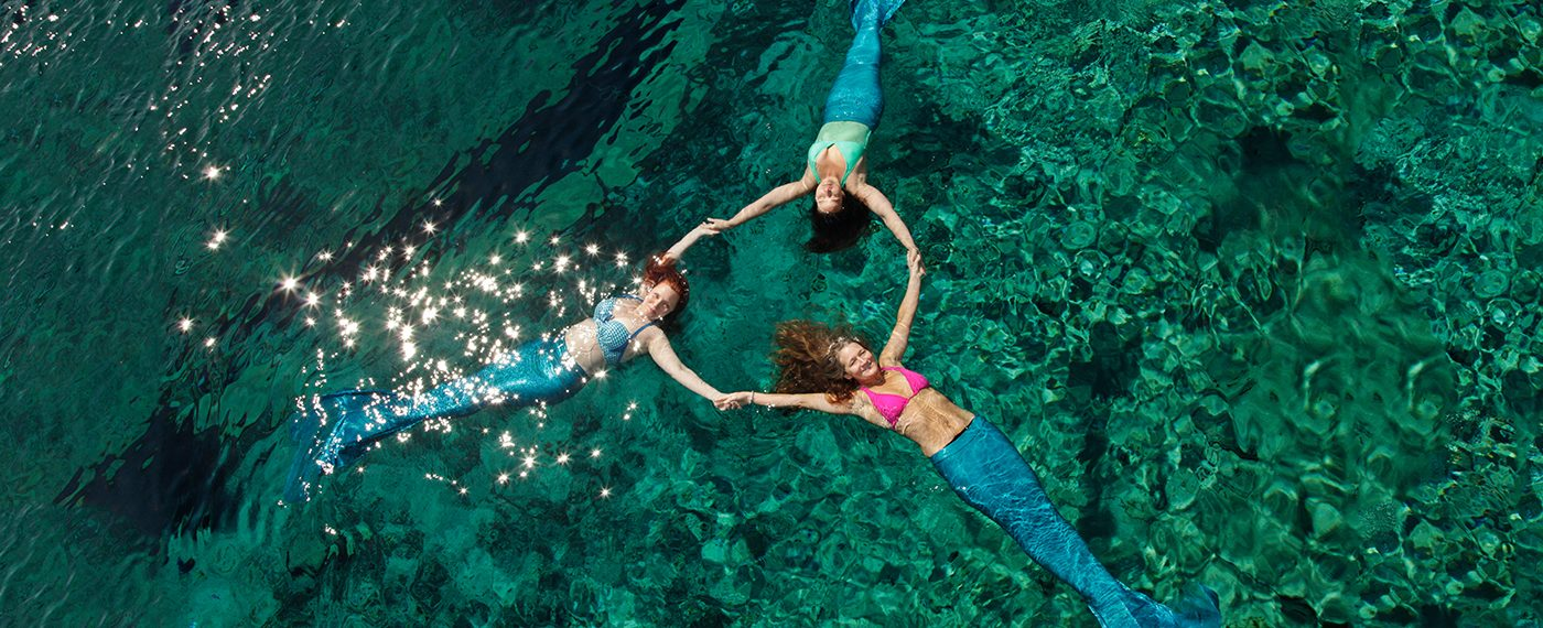 How to become a real mermaid