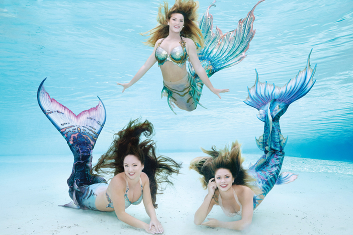 2017 weeki wachee mermaid calendar