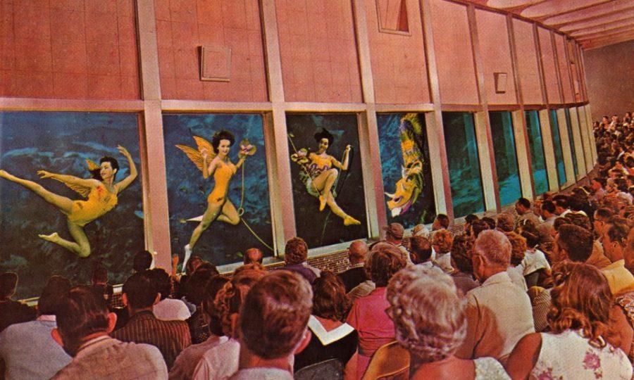 historic weeki wachee mermaid show