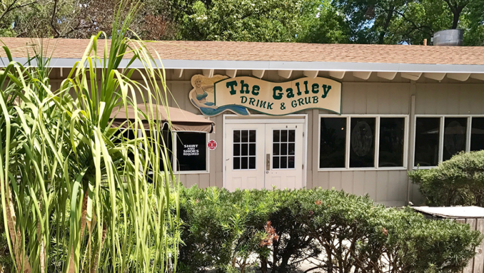 photo of the galley at weeki wachee